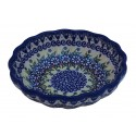 "Polish Pottery Vena JOANN 4.8"" Kasia Scalloped Bowl 