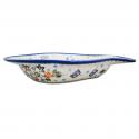 Polish Pottery ADORABLE Stoneware Fish Deep Salad Bowl | A-UNIKAT