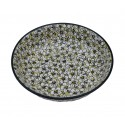 "Polish Pottery BACOPA 10"" All Purpose Stoneware Bowl 