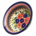 Polish Pottery BUTTERFLY MERRY MAKING 17-oz Flared Top Stoneware Bowl | UNIKAT