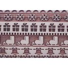 """Pottery Avenue and Wooden Corner brings you these wonderful 4.5"""" embossing rolling pins - SEP-031 HOLIDAY SWEATER"""