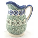 "Pottery Avenue Vena Melody 4"" Stoneware Pitcher (SM)"