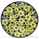 "Pottery Avenue 11"" Stoneware Dinner Plate -1014-346AR Blue Citrine"