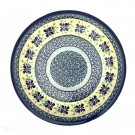 "Polish Pottery DEAREST FRIENDS 7.75"" Stoneware Salad Plate | ARTISAN"
