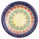 "Pottery Avenue Flowering Splendor 9.75"" Stoneware Plate"