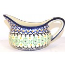 Polish Pottery 2 Cup FANFAIR Gravy Boat | CLASSIC