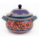 Pottery Avenue 12.5-Cup CHERISHED FRIENDS Soup Tureen | UNIKAT