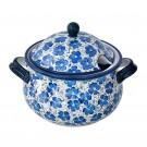 Pottery Avenue 12.5-Cup Stoneware Soup Tureen - 1004-352A BLUE HARMONY