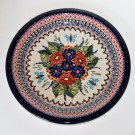 """Pottery Avenue 11"""" Stoneware Dinner Plate -1014-149AR Butterfly Merry Making"""