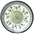 "Pottery Avenue 11"" Stoneware Dinner Plate -1014-160AR Blue Tulip"