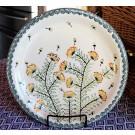 "Pottery Avenue 11"" Stoneware Dinner Plate -1014-DU201 Wish"