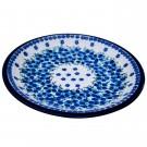 "Pottery Avenue 11"" Stoneware Dinner Plate - 1014-DU233 Mod Floral"