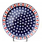 "Pottery Avenue 11"" Stoneware Dinner Plate -1014-927 Americana"