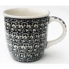 Polish Pottery 12-oz ELEGANT TIMES Coffee Mug | CLASSIC
