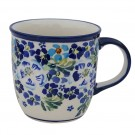 Pottery Avenue 12oz Stoneware Coffee Mug - 1105-DU207 True Blues