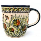 Pottery Avenue 12oz Stoneware Coffee Mug - 1105-DU183 Wishful