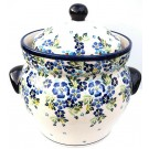 Pottery Avenue 7.6-cup TRUE BLUES Canister   ARTISAN