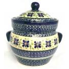 Pottery Avenue 7.6-cup Stoneware Canister - 1125-DU121 Dearest Friend