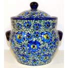 Pottery Avenue 7. 6-cup BLUE LAGOON Kitchen Canisters   UNIKAT