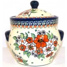 Pottery Avenue 7.6-cup Stoneware Canister - 1125-326AR Empress