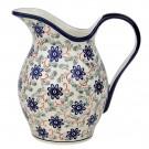 Pottery Avenue 2-Quart Stoneware Pitcher-Vase - 1160-1197A Riverbank