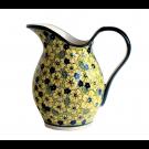 Pottery Avenue 2-Quart Stoneware Pitcher - 1160-346AR Blue Citrine