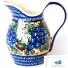 Pottery Avenue 2-Quart Stoneware Pitcher - 1160-DU8 Grapes