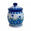 "Pottery Avenue Mod Floral  3"" Spice Jar 4.7oz"
