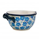 Pottery Avenue BLUE HARMONY 5-Cup Stoneware Batter Bowl - 1252-352AR