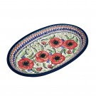 Pottery Avenue 12-inch Stoneware Oval Serving Platter - 1264-257EX BELLISSIMA