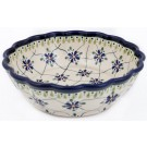 Pottery Avenue SWEETHEART Scalloped Stoneware Serving Bowl | ARTISAN