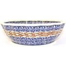 Pottery Avenue Scalloped Stoneware Serving Bowl - 1278-1117 Cuba