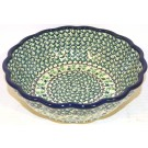 Pottery Avenue IVY Scalloped Stoneware Serving Bowl | CLASSIC