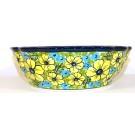 Pottery Avenue CITRINE Scalloped Stoneware Serving Bowls | UNIKAT