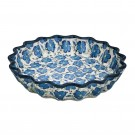 Pottery Avenue 10-inch Stoneware Quiche/Pie Dish - 1331-352AR BLUE HARMONY
