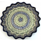 "Pottery Avenue Celebrate 10"" Stoneware Pie-Quiche Dish"