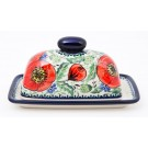 Pottery Avenue Bellissima 2pc Covered Stoneware Butter Dish