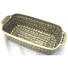 Pottery Avenue 5 Cup ELEGANT TIMES Stoneware Loaf Pan | CLASSIC