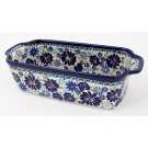 Polish Pottery 4TH OF JULY 5-Cup Stoneware Loaf Pan | ARTISAN