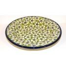 "Polish Pottery BACOPA 9.5"" Soup-Pasta-Salad Stoneware Plate | UNIKAT"