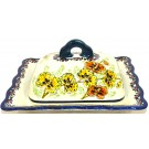 Pottery Avenue ORCHID Covered Butter Dish | UNIKAT