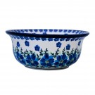 Pottery Avenue MOD FLORAL 6-inch Stoneware Flared Chilli Bowl -1604-DU233 Mod Floral