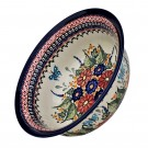 Pottery Avenue 7.6-Cup Flared-Top Stoneware Bowl - 1605-149AR Butterfly Merry Making