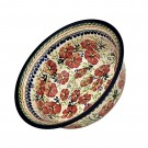 Pottery Avenue 10-inch Stoneware Baking-Serving Bowl - 1605-252EX Love Blossoms