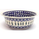 "Pottery Avenue 10"" EYE OF THE PEACOCK Stoneware Serving Bowls 