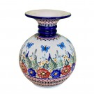 """Pottery Avenue 9.6"""" Andrea Vase 164-149AR Butterfly Merry Making"""