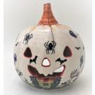Pottery Avenue Stoneware Jack O' Lantern - 1726-DU125 Spiders N Spooks