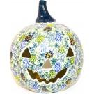 Polish Pottery PINECONE Stoneware Jack-O-Lantern | ARTISAN