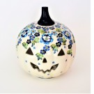 Pottery Avenue Stoneware Jack O' Latern - 1726-DU207 True Blue