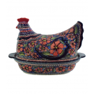 Pottery Avenue 1.5L Cherished Friends Hen Covered Casserole